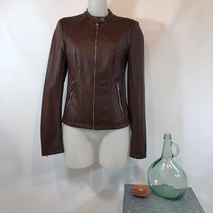 NWT Express Vegan Leather Moto Jacket